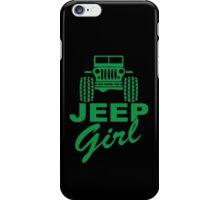 Jeep Girl Green iPhone Case/Skin