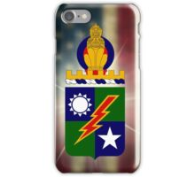 75th Ranger Regiment - Coat of Arms iPhone Case/Skin