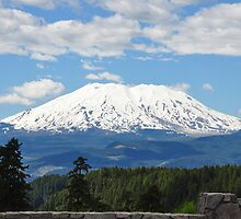 Mount Saint Helens by quiquilee