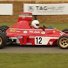 Lauda Ferrari by JohnBuchanan