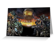 Halo: Reach Poster (With Text) Greeting Card