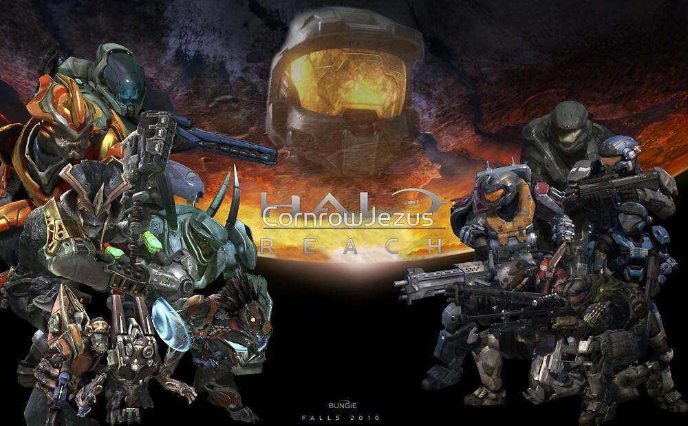 Halo: Reach Poster by CornrowJezus