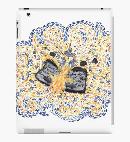Exploding Typewriter iPad Case/Skin