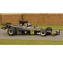 John Player Special - Ronnie Peterson Photographic Print
