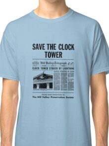 Back to the future - Save the clock tower ! Classic T-Shirt