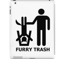 Furry Trash iPad Case/Skin