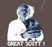 Back to the future - Great Scott ! Baby Tee