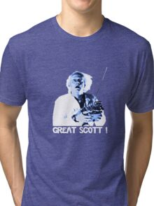 Back to the future - Great Scott ! Tri-blend T-Shirt