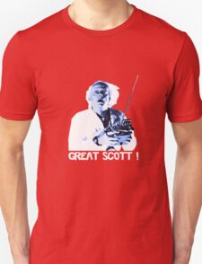 Back to the future - Great Scott ! Unisex T-Shirt