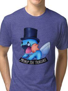 Mudkip The Fabulous Tri-blend T-Shirt