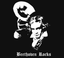 Beethoven Rocks! by deepspacemonkey