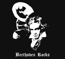 Beethoven Rocks! Unisex T-Shirt