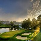 Morning at US Open - 10th Hole by -CO-