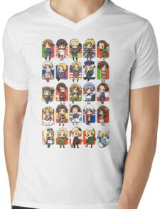 Hetalia Group Mens V-Neck T-Shirt