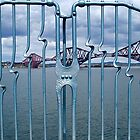 Forth Bridge Fence by impossiblesong