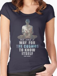 The Cosmos Women's Fitted Scoop T-Shirt