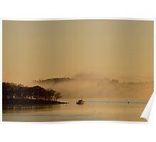 Sunrise Harbor Poster