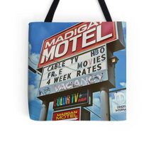 Classic motel sign Tote Bag