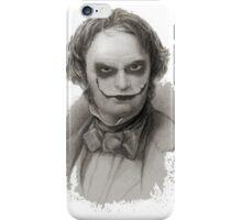 Wordsworth as Joker iPhone Case/Skin