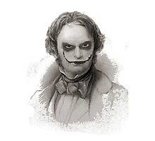 Wordsworth as Joker Photographic Print