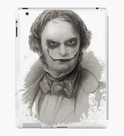Wordsworth as Joker iPad Case/Skin