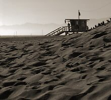 Sand & Lifeguard House by tom j deters