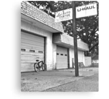 Lou's auto center Metal Print