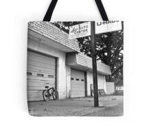 Lou's auto center Tote Bag