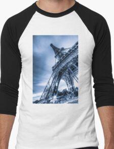 Eiffel Tower 4 Men's Baseball ¾ T-Shirt