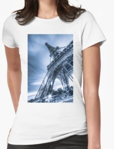 Eiffel Tower 4 Womens Fitted T-Shirt