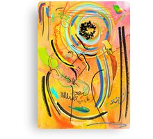 Tranquil Flux Canvas Print
