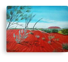 From a Distance, Australia Canvas Print