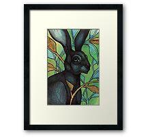 The Hidden Hare Framed Print