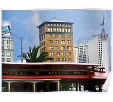 San Francisco Union Square Cable Car Poster