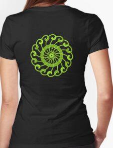 lime green spin flower T-Shirt