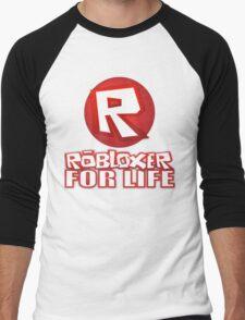 Robloxer For Life Men's Baseball ¾ T-Shirt