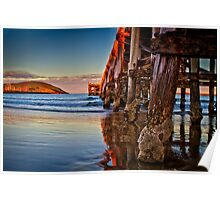 Sunset - Coffs Harbour Jetty Poster