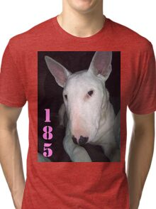 MILEY THE BULL TERRIER Tri-blend T-Shirt