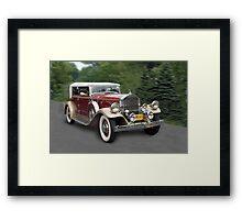 '31 Pierce Arrow Framed Print