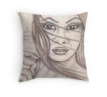 Christine (I) Throw Pillow