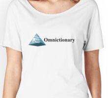 Omnictionary – Paper Towns, John Green, DFTBA, Radar Women's Relaxed Fit T-Shirt