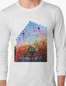 Scary Crying House - Unique Photography  Long Sleeve T-Shirt