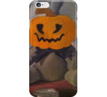 Pumpkin stuffed animal iPhone Case/Skin
