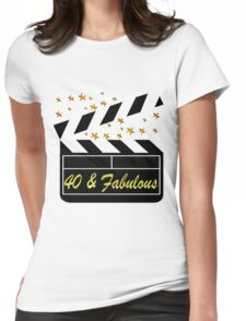 40TH MOVIE QUEEN Womens Fitted T-Shirt