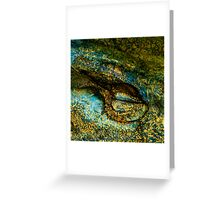 Eye of the Crocodile III [Print & iPad Case] Greeting Card