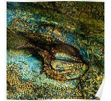 Eye of the Crocodile III [Print & iPad Case] Poster