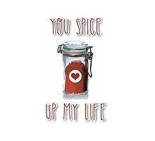 You spice up my life by fashprints