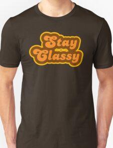 Stay Classy - Retro 70s - Logo T-Shirt