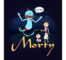 Rick and Morty Aladdin Parody Photographic Print