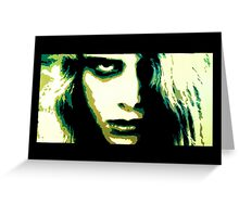 Night of the Living Dead- Zombie Karen Cooper Greeting Card